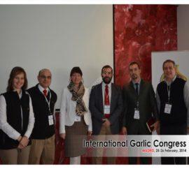 Garlic Congress Madrid 2014
